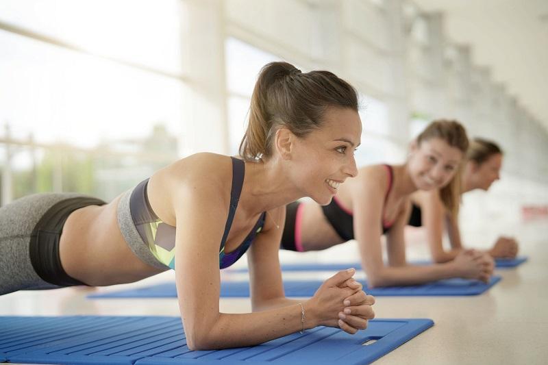 profesjonalne podłogi w klubie fitness